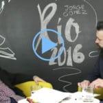 LetraConversa 8: 'Río 2016' de Jorge Gómez Manzanilla.