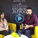 LetraConversa 3: 'A mi lado el silencio' de Sylvia Roldán.