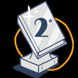 Icono Premio finalista Letrame