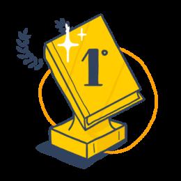 Icono Premio ganador Letrame